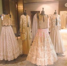 White and Gold. Pakistani Couture, Indian Couture, India Fashion, Asian Fashion, Latest Fashion, Women's Fashion, Fashion Trends, Indian Dresses, Indian Outfits