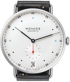 Nomos Glashutte Watch Metro 38 Datum Pre-Order #basel-15 #bezel-fixed…
