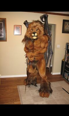 Lion fursuit