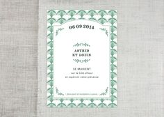 Save the date, by Näbe Fabric