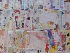 Grab Bag: 200 San-X Only Mini Memo Note Paper Stationery Kawaii Cute