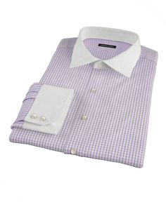 Greenwich Lavender Grid by Proper Cloth