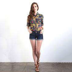 Taylor Floral Print Shirt