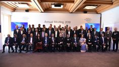 Indian Prime Minister Sri Narendra Modi interacted with leading Indian CEOs at Davos.