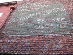 Arthur Thompson Ghostsign, Middlesbrough