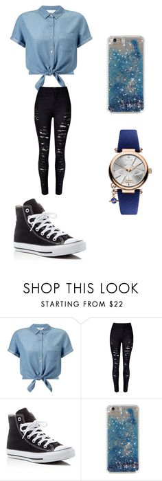"""Outfits"" by minah15 ❤ liked on Polyvore featuring Miss Selfridge, Converse and Vivienne Westwood"