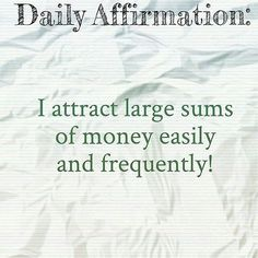 "40 Likes, 5 Comments - Money Manifested (@moneymanifested) on Instagram: ""Daily Affirmation ➖➖➖➖➖➖➖➖➖➖➖➖➖➖➖➖➖➖➖➖➖➖➖➖➖➖➖➖,➖➖➖➖➖➖➖➖➖➖➖➖➖➖➖ #manifest #money #cash #quotes…"""
