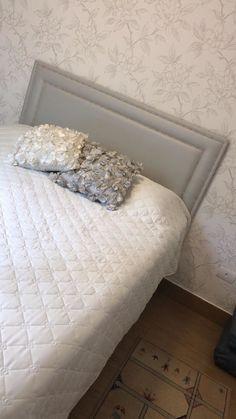 dda2e881d Cabeceira estofada com tachas para cama box! Escolha TECIDO e COR