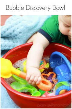 Jase will like this this summer :)) Try a Bubble Discovery Bowl for baby to explore.