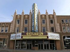 Capitol Theatre - Flint, Mich - The historic Capitol Theatre is said to be haunted, and witnesses have seen apparitions and shadows in the balcony area and heard unexplained screams, moans, and tapping on the walls. Reports say that bands setting up here have had their equipment suddenly go dead and heard eerie singing accompanied by apparitions in the balcony.