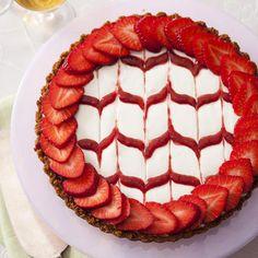 Pressed-Crust Strawberry Tart