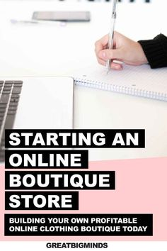 Learn Starting An Online Boutique business in 6 simple step by step. By the end of this step by step tutorial, you would have learned how to build a profitable online clothing boutique today. Read more inside. #onlinestore #onlineboutique #onlineclothingboutique  #onlineboutiquebusiness  #ecommerce Starting Your Own Business, Start Up Business, Business Tips, Online Business, Starting An Online Boutique, Selling Online, Make Money Online, How To Make Money, Sell Your Stuff