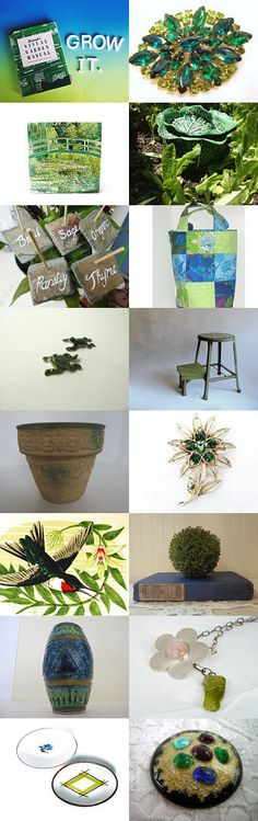 How Does Your Garden Grow by Linda Sapp Long on Etsy--Pinned with TreasuryPin.com