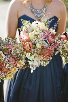 Fall has perhaps the greatest palette for your wedding flowers! See our gallery of fall wedding bouquets for more inspiration!