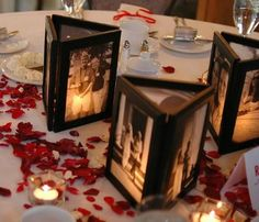Bridal Crafts...centerpiece idea