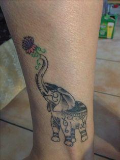 Elephant tattoo !