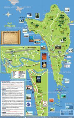 Phu Quoc Island Map