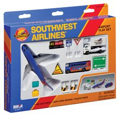 Amazon.com: Daron Southwest Airlines Airport Playset: Toys & Games