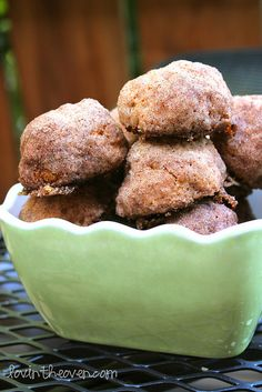 Baked Cinnamon Breakfast Bites - Lovin' From The Oven