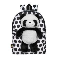 Petsac White Panda Children's Backpack