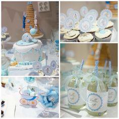 kakebord dåp design Baby Shower, Children, Babyshower, Young Children, Boys, Kids, Baby Showers, Child, Kids Part