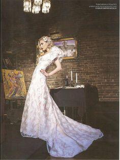 Bridal White , spring summer issue .