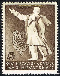 "EBS Croatia Hrvatska NDH 1942 ""Victims of Senj"" set Michel No 91-92 MNH** in Stamps, Europe, Croatia   eBay!"