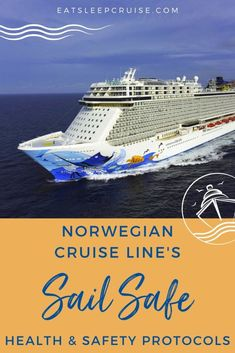 NCL outlines its plan to restart cruising on July 4th. We highlight all the details of Norwegian Cruise Line's new Sail SAFE program. Cruise Checklist, Packing List For Cruise, Cruise Tips, Cruise Travel, Cruise Vacation, Cruise Excursions, Cruise Destinations, Safe Program, Cruise Ship Reviews
