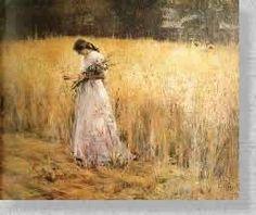 Moça no Trigal (1913) Eliseu Visconti