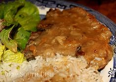 Country Style Pork Chops in Gravy