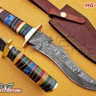 We manufacture high quality Damascus custom handmade knives and chef sets. Hunting Knives, Handmade Knives, Damascus, Bowie, Damask, Custom Knives