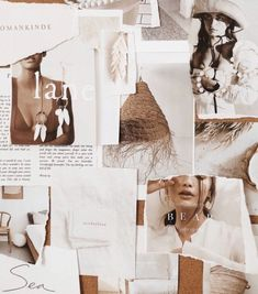 A new mood for the beginning of the year boards collage Mood by Sunday Lane Mood Board Inspiration, Graphic Design Inspiration, Just Dream, Fashion Collage, Aesthetic Collage, Creative Advertising, Wall Collage, Aesthetic Wallpapers, Blogging