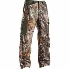 44x32 Under Armour Camo Cargo Capture Scent Control RealTree Hunting Pants NEW  $140