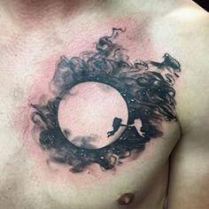 Este gesto en alusión a Luna : | 33 Magníficos tatuajes inspirados por películas