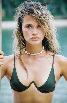 Chloe Lecareux by Brydie Mack for Bamba Swim S/S 2017 Bikinis Lindos, Mädchen In Bikinis, Summer Bikinis, Cute Bikinis, Sexy Bikini, Bikini Girls, Bikini Babes, Mini Bikini, Bamba Swim