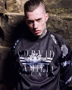 """Corvid Fam"" Raglan Sweashirt Available at www.crmc-clothing.co.uk 