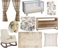 Baby Boy Nursery Scheme