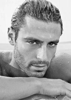 Pedro Soltz as felipe Beautiful Men Faces, Beautiful Boys, Gorgeous Men, Beautiful People, Moustache, Black And White Face, Dark Men, Man Photography, Portraits