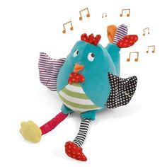 Muziek speelgoed Vrolijk Kipje