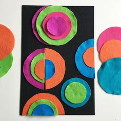 in the studio: sonia delaunay felt circles — the making table