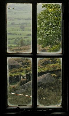 View from a window in Rockhall Cottage