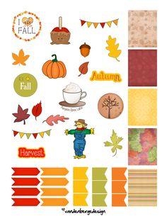 A Fall Freebie from VanDenBerge Design