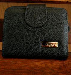 Carteira em couro preto. Mab Store - www.mabstore.com.br
