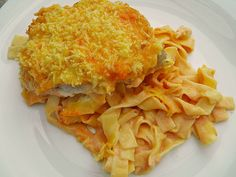 Chefkoch.de Rezept: Überbackene Melba - Schnitzel