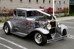 1931 Ford Model A 5-Window Coupe - hotrod | Flickr - Photo Sharing!