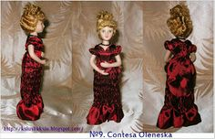 Вышиваю с любовью: Дамы Эпохи Моя коллекция Кукол