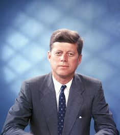 John F. Kennedy was the 35th President of the USA who was assassinated in November 1963.