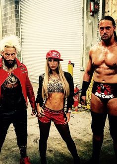 Enzo, Carmella and Cass
