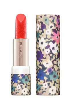 We're sold on Paul  Joe's new floral and paisley fall packaging. Not only is the outside eye-catching, the shades look good on, too.     Paul  Joe Beauté lipstick in Soho, $22, available at Beauty Habit.