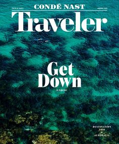 Our January issue is here—and 2016 is all about AUSTRALIA! Cover photographed by Brett Stevens at Gordon's Bay